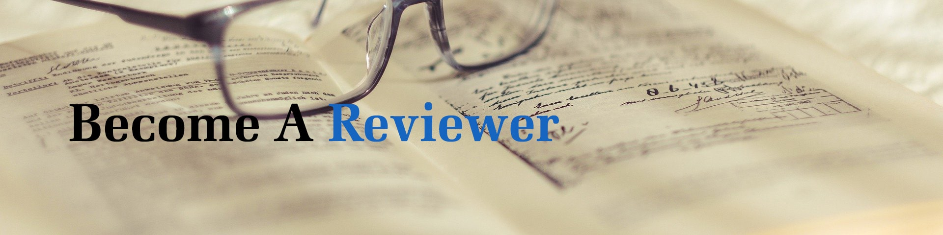 Become A Reviewer