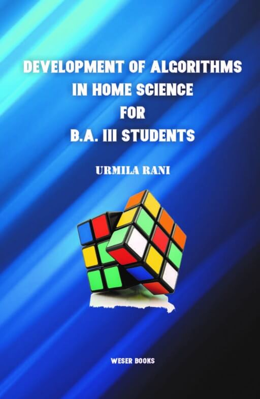 Development of Algorithms in Home Science for B.A. III Students